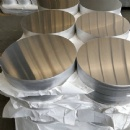 1100 Aluminum Sheet Circle Width Customized Aluminum Discs Blank ISO 9001 Certified